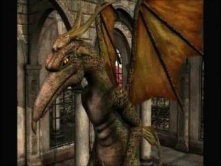 3 डी एनीमेशन: परी और ड्रैगन