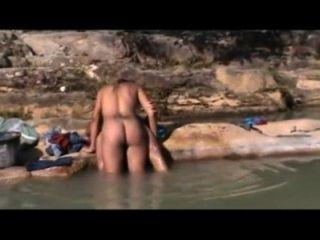 नदी पर ब्राजील के आउटडोर सेक्स - बाहिया