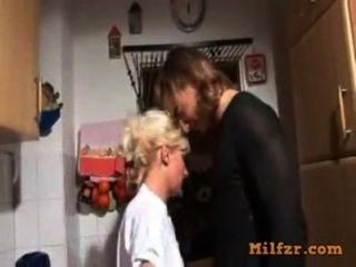 गोरा जर्मन माँ और बेटे गड़बड़
