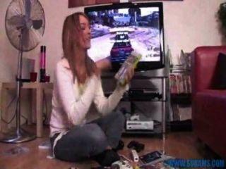 केटी Kay हस्तमैथुन वीडियो गेम