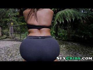 Colombian बड़ा गधा बड़े स्तन Follada