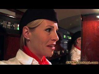 рдорд╣рд┐рд▓рд╛рдУрдВ рдХрд╛ рджрдмрд╛рдирд╛ рд╕реАрдПрдлрдПрдирдПрдо Stewardesses рдмрдХрд╡рд╛рд╕ рдЕрд╕рднреНрдп рдпрд╛рддреНрд░реА