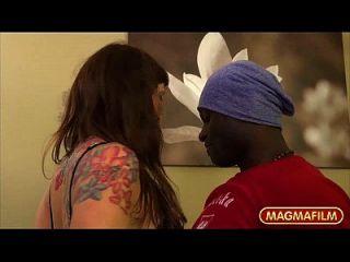 मेग्मा फिल्म वसा काले गुदा Creampie