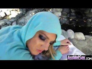 दौर गीला सुस्वाद बट लड़की इसे गधे वीडियो में गहरी ले 28