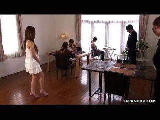 एशियाई Sluts एक गर्म चारों में Fucked हो रही है