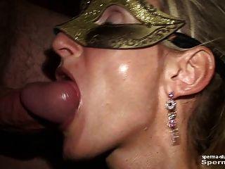 Spermastudio: मुंह चरम में सह - P2 - Natascha यू।लूना