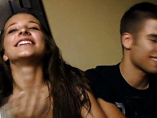 18 वर्ष क्रिस्टीना और डिएगो - पैसे के लिए युवा जोड़े बकवास