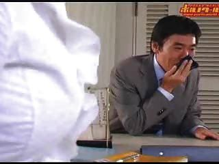 गर्म जापानी शिक्षक
