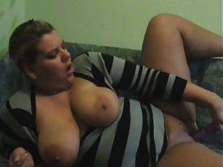 मोटी लड़की Masturbating