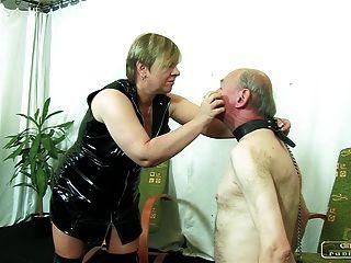 पीड़न कामुक दादी Vi - चेहरे थप्पड़ मारने, बेंत से भरना, सजा