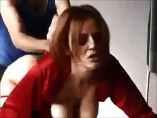 बड़े Boobed पत्नी घर का बना पर गड़बड़