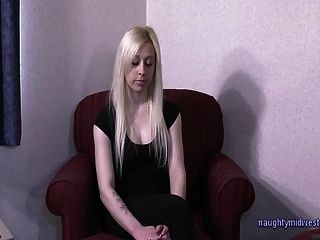 Andreanna - खूबसूरत गोरा प्यारा अश्लील ऑडिशन