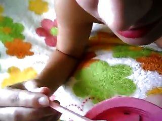 Fernanda एक Torta डी Brigadeiro कॉम Porra ई