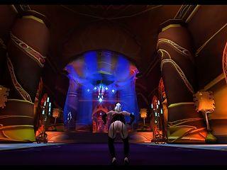 Warcraft: रात Elf और Keyla खून योगिनी Erable