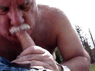 पार्क में पिताजी भालू