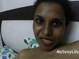 बड़े भारतीय स्तन बेब सींग का लिली