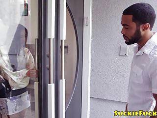 Analfucked एशियाई बेब मुंह से बीबीसी गधा लेता है