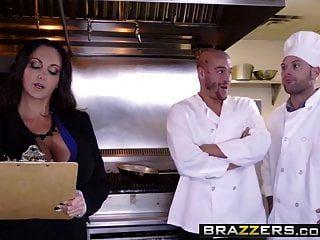 काम पर बड़े स्तन Brazzers एवा Addams Xander Corvus