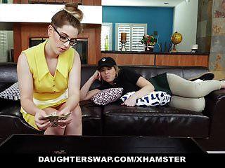 Daughterswap सेक्सी लड़कियां कुछ पिताजी के लिए पिताजी बकवास