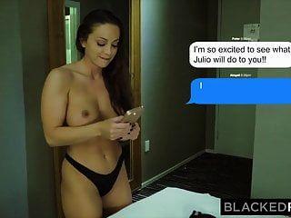 Blackedraw Abigail Mac दुनिया में सबसे बड़ी Bbc लेता है
