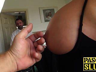 बड़े स्तन और गधा एकल के साथ गंदा एमआईएलए मुश्किल हस्तमैथुन