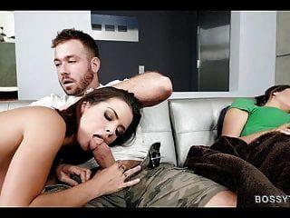उसके दोस्त के बगल में डरपोक सेक्स