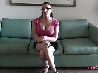 मेलानी हिक्स नौकरी साक्षात्कार Creampie